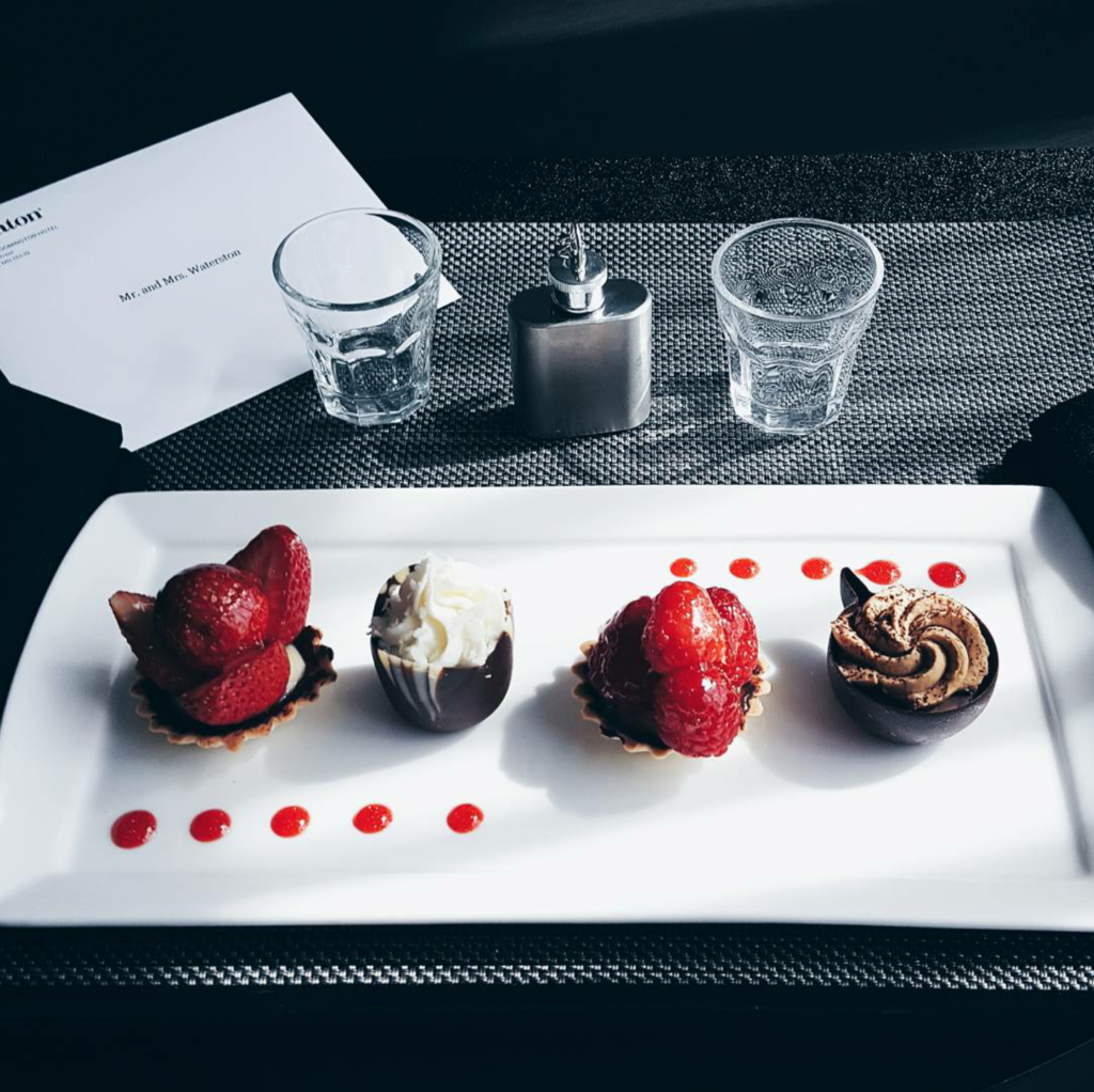 Staycation featuring SPG Keyless with Starwood Hotels on Champagne + Macaroons