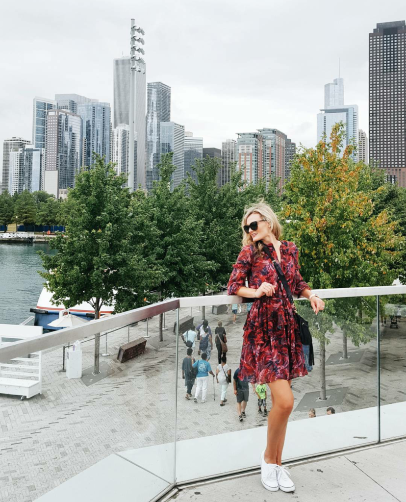 Ruffled with Solani in the Windy City on Champagne + Macaroons