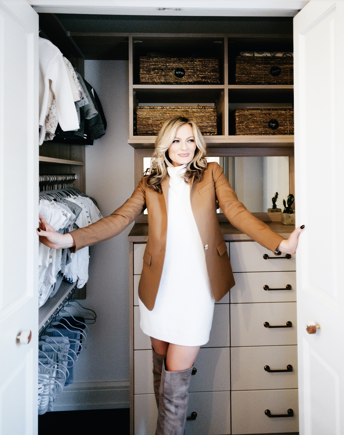 Leo's Nursery & Closet Reveal with California Closets
