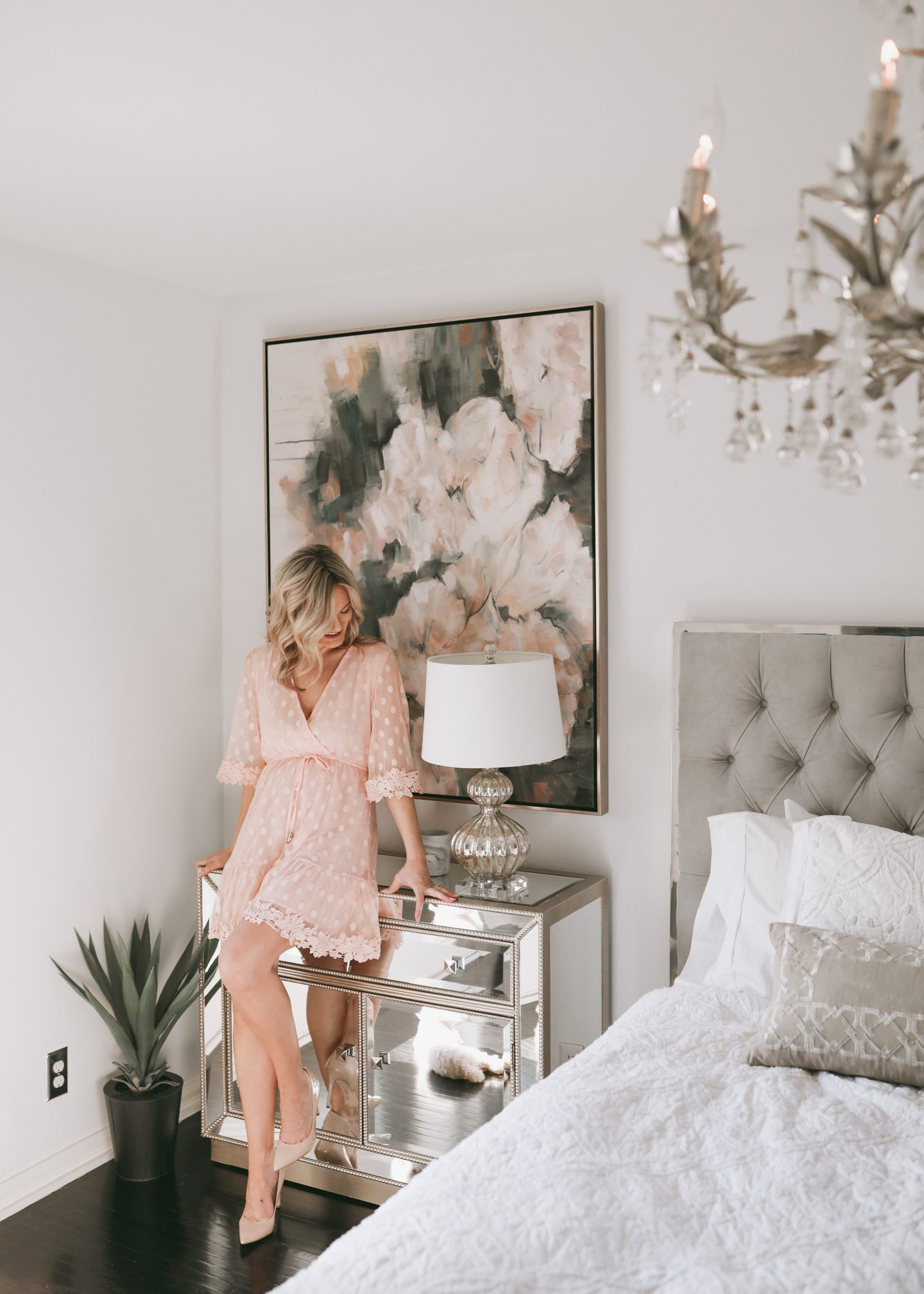 Spring Refresh with Z GALLERIE | A Peek Inside Our Master Bedroom