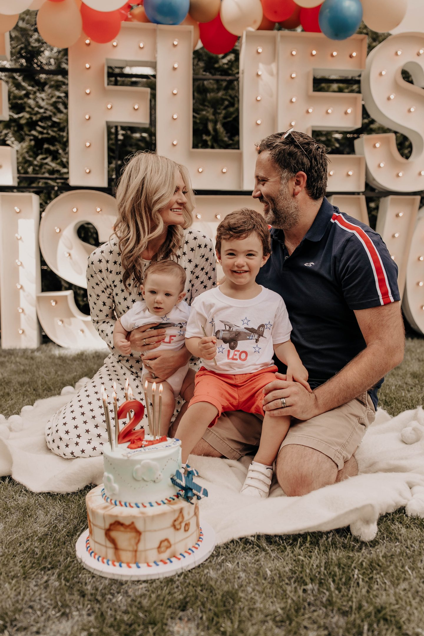 Time Flies…Leo is TWO! | Backyard Birthday Bash