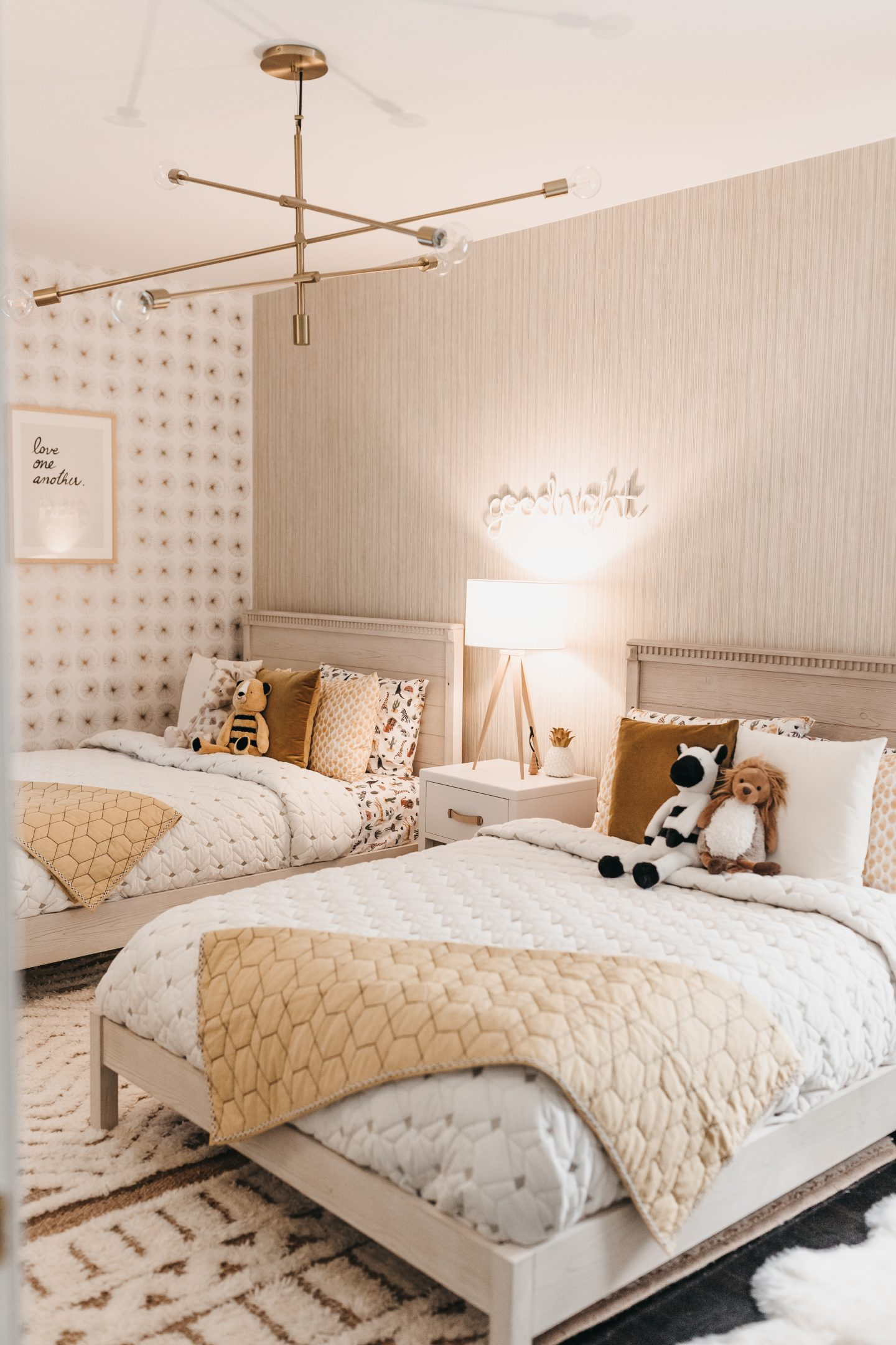 Goodbye baby crib, Hello toddler bed. Big Kid Room Reveal with Pottery Barn Kids